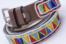 Maasai belt fully embroidered